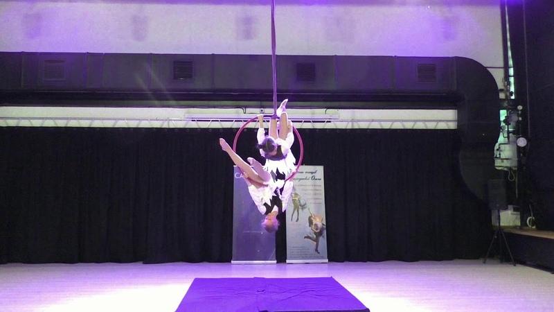 Маргарита Отто и Арина Полупанова - Catwalk Dance Fest IX[pole dance, aerial] 30.04.18.