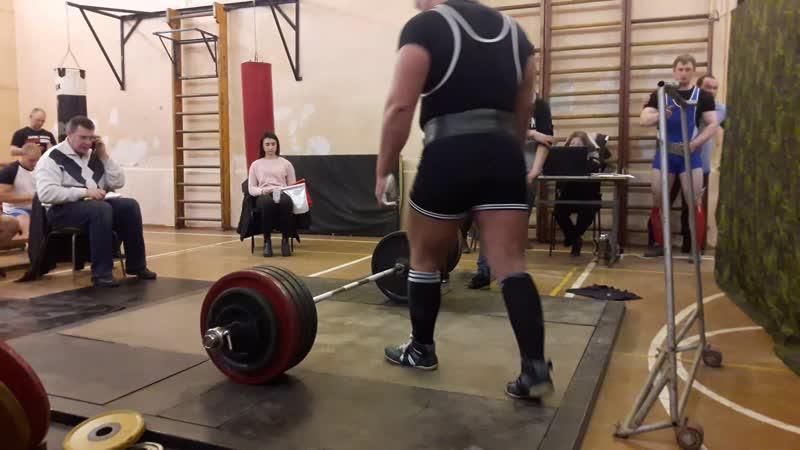 становая тяга 250 кг не вытянул