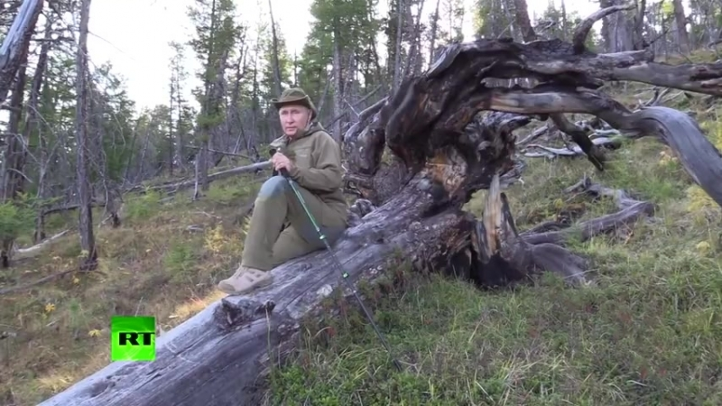 Отдых в Туве_ как Путин провёл выходные на Енисее