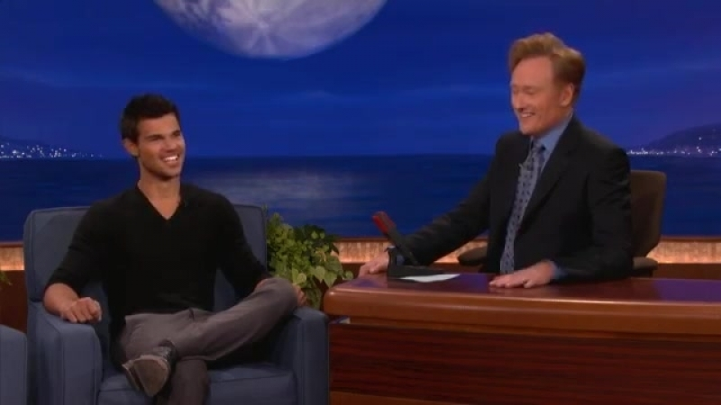 Taylor Lautner Interview Part 01 - Conan on TBS