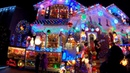 ⁴ᴷ⁶⁰ Santa's Corner Christmas House in Whitestone, Queens, NYC : Larger than Life Decorations