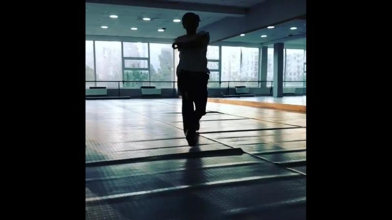 Flight from the dancer David Chanishvilii ❤🇬🇪