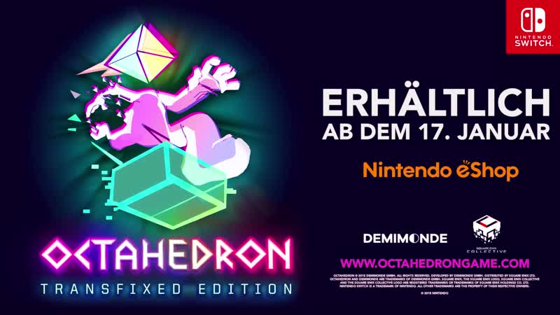 Octahedron Transfixed Edition - Трейлер (Nintendo Switch) [GER]