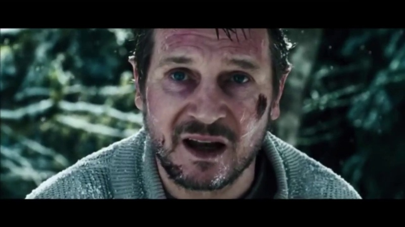 Схватка / The Grey (2011) драматичная концовка фильма