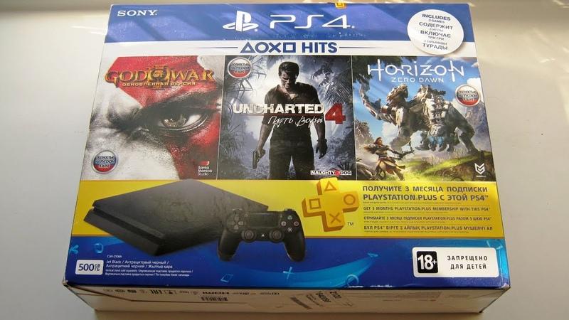 Хотел PS2 а купил PS4 PlayStation 4 Slim из ДНС Первые впечатления