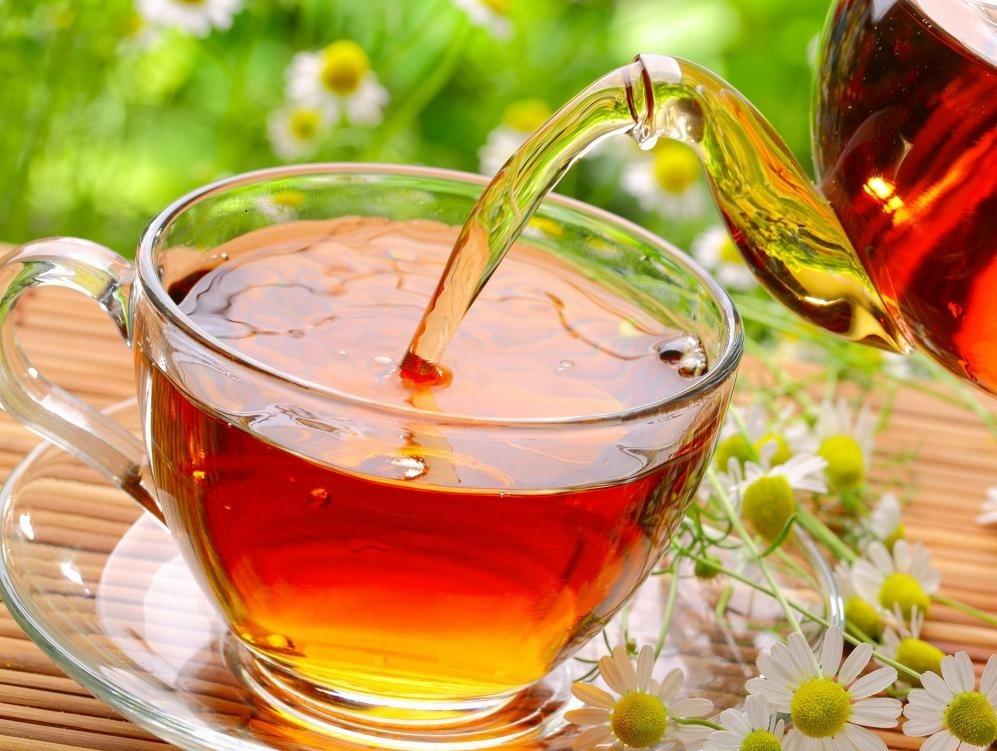 Гинкго билоба может потребляться как чай.