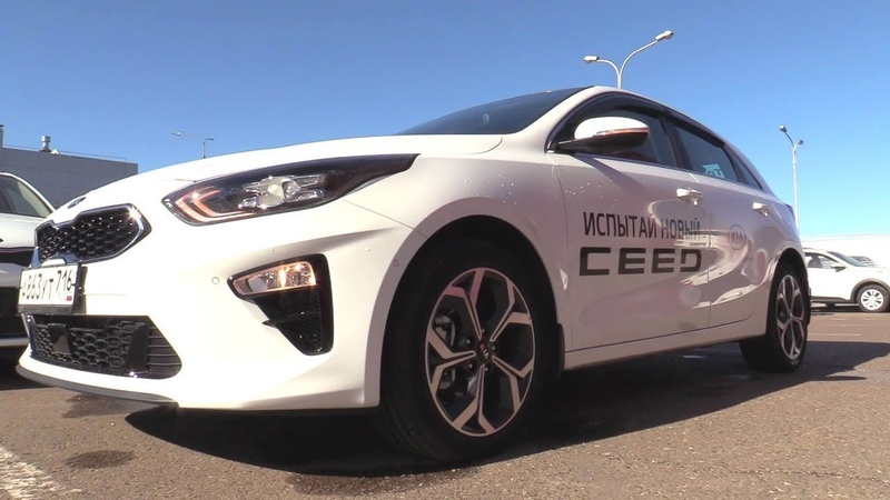 2018 Kia Ceed 1.4T-GDI DCT Premium. Start Up, Engine, and In Depth Tour.