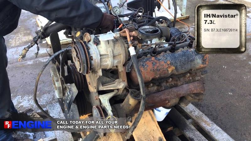 6799086GN | IH/Navistar® 7.3L Non-Turbo Diesel Complete Good Runner
