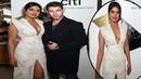 Priyanka Chopra wows in white while she and Nick Jonas join parade of stars