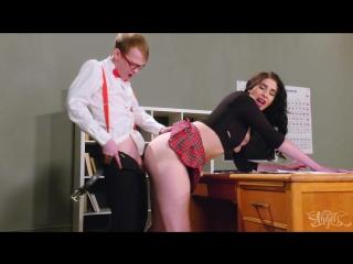 [transangels] alexa scout & matt bailey - alexa gets an a in anal [2018 г., shemale hardcore bareback, 1080p]