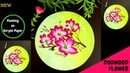 Quick and Easy Dogwood Flower Painting One Stroke Painting Flowers Acrylic Painting DIY