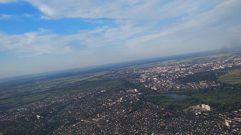 Аеровідеозйомка м. Луцька з висоти 700 метрів