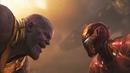 Железный человек и Доктор Стрэндж против Таноса Мстители Война бесконечности 2018