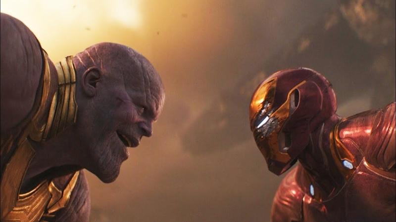 Железный человек и Доктор Стрэндж против Таноса | Мстители: Война бесконечности (2018)