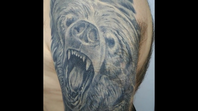 Медведь на плече