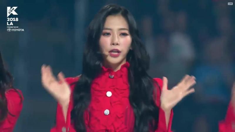 180812 Dreamcatcher (드림캐쳐) - YOU AND I, Talk, GOOD NIGHT @ KCON LA 2018