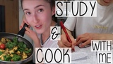 STUDY & COOK WITH ME AT UNI FT. MY FIRST EVER PRESENTATION | BUSY STUDENT DAY IN THE LIFE VLOG