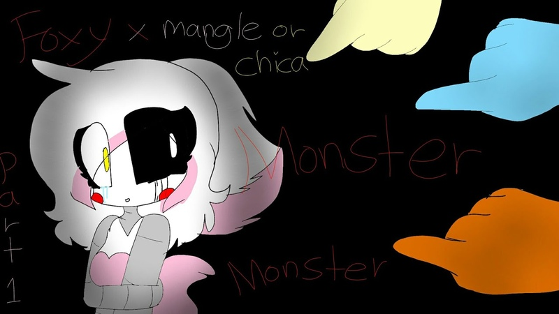 Foxy x mangle or chica part 1