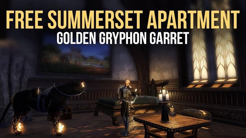 ESO Summerset: Get your FREE Golden Gryphon Garret Inn Room in Alinor