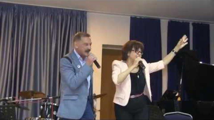 Тиханович и Поплавская исп Чарка на посошок Редкая запись