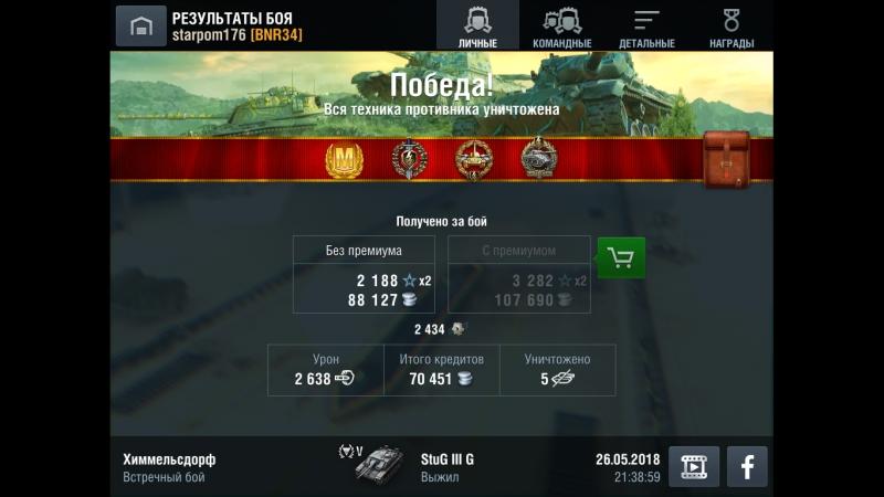 StuG III Ausf.G. Химмельсдорф. 26.05.18