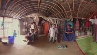 360° - Поселения беженцев рохинджа в Бангладеш