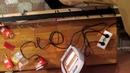 Станок для смазки лыж из подручных материалов часть 2 Обработка лыж парафином
