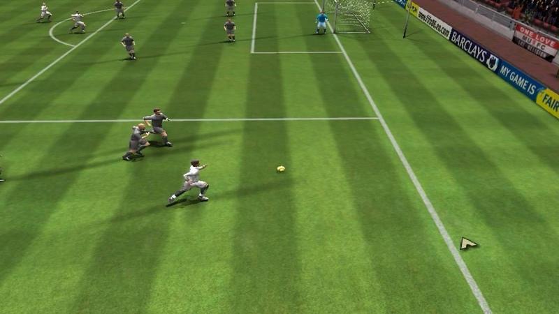 FIFA 06 Absent Goalkeeper