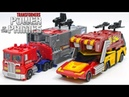 Transformers Power of the Prime Evolution Rodimus Prime Optimus Prime Vehicle Car Robot Toys