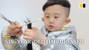 Meet the six year old hairdresser in southern China