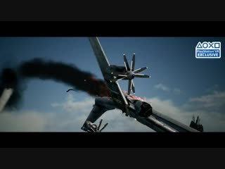 Ace Combat 7 Skies Unknown Target Locked Trailer PS4