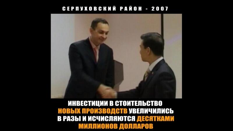 Серпуховский район - 2007 год