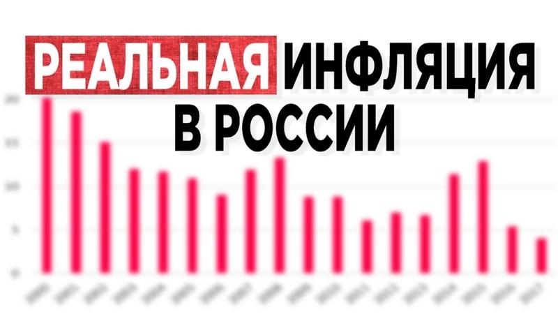 Какая инфляция в России? Реальная vs. официальная инфляция. Прогноз 2019