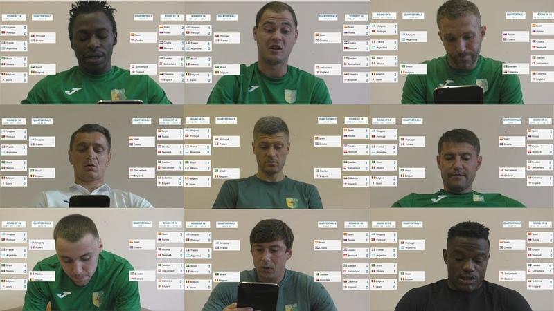 Прагнозы на 1 8 фінала ЧС2018 ад футбалістаў Нёмана