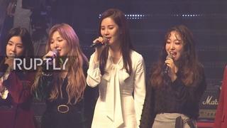 North Korea: Kim Jong-un attends Pyongyang's first K-Pop gig in 13 years