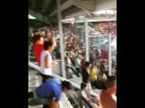 Торино - Рома. Фан сектор в момент гола! 19/08/2018