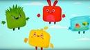 Четверо в кубе Сборник серий с 14 по 18 мультики для детей