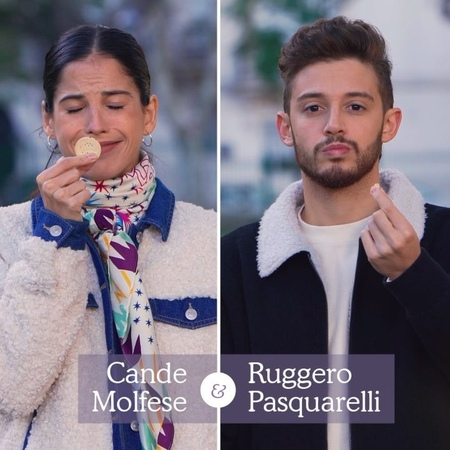 """Ruggero Pasquarelli on Instagram: """"¡Descubrí el resultado de una hermosa tarde repartiendo las nuevas ChocoMinis con @candemolfese ¡Sorprendete vo..."""