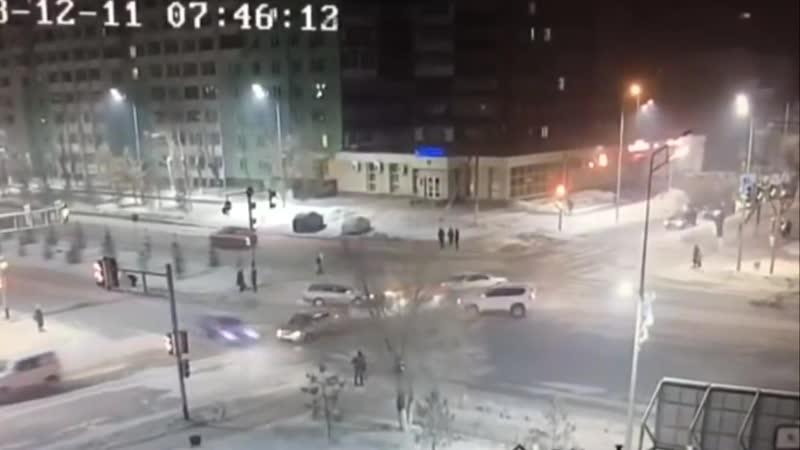 Авария Петропавловск.