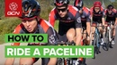How To Ride In A Pace Line Cycling Group Ride Tips