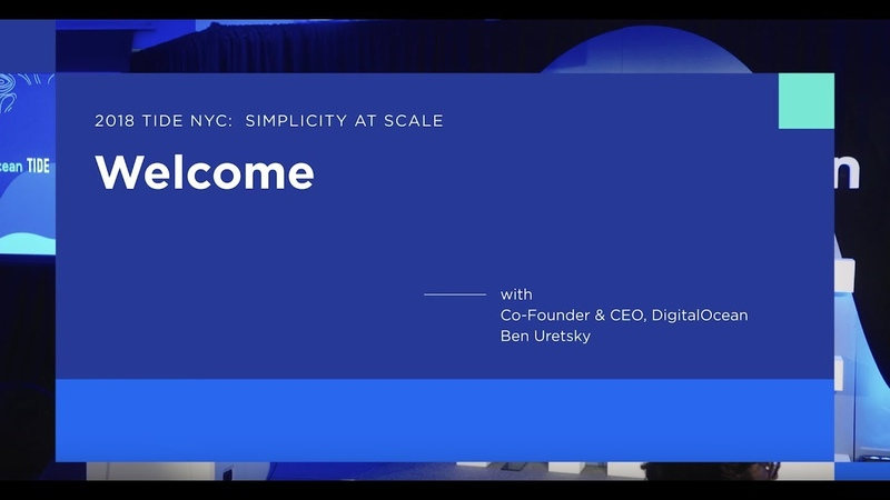 TIDE NYC 2018: CEO Ben Uretsky's Welcome