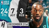 Kemba Walker Full Highlights Hornets vs Magic 2018.12.31 - 24 Pts, 7 Ast, 3 Reb, TOO EASY!