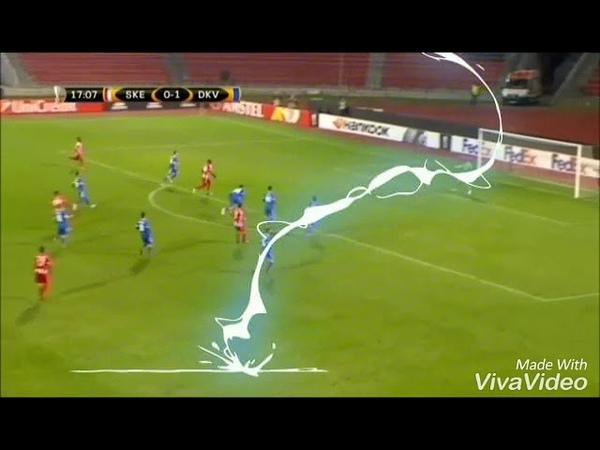 Boooom Sabien lilaj Skenderbeu vs Dinamo kiev 3 1
