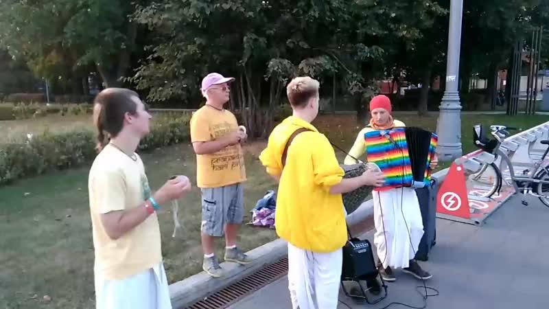 Харинама Москва Лужники 10.09.18