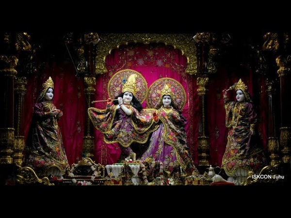 Mangal Arati Darshan Sri Sri Radha Rasbihari Temple 15th Sep 2018 Live from ISKCON Juhu, Mumbai