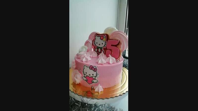 Торт с китти