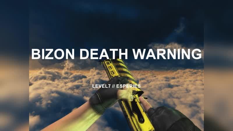 BIZON | DEATH WARNING (Смертельная опасность)