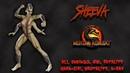 Mortal Kombat - All Fatality, Bio, Ending - Sheeva