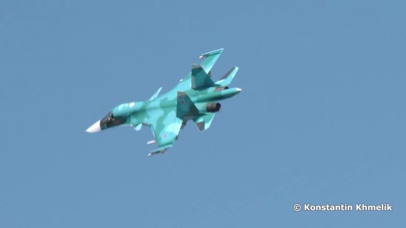 Су-34 МАКС 2015 Su-34 MAKS 2015