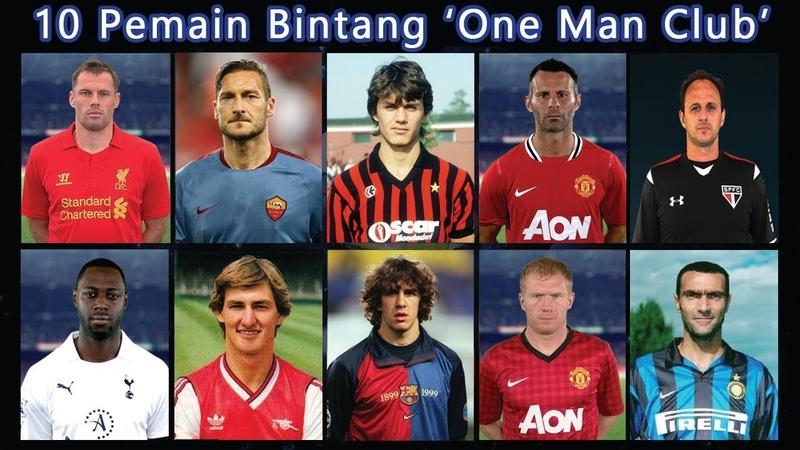 10 Pemain Bintang Dijuluki 'One Man Club'